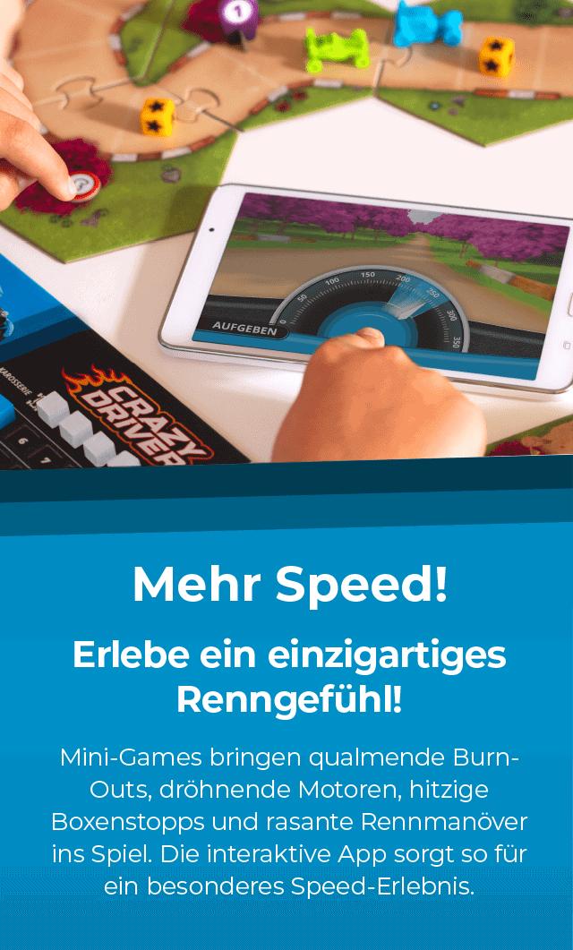 Mehr Speed