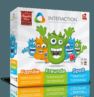 Interaction - Das Partyspiel für Familie und Freunde