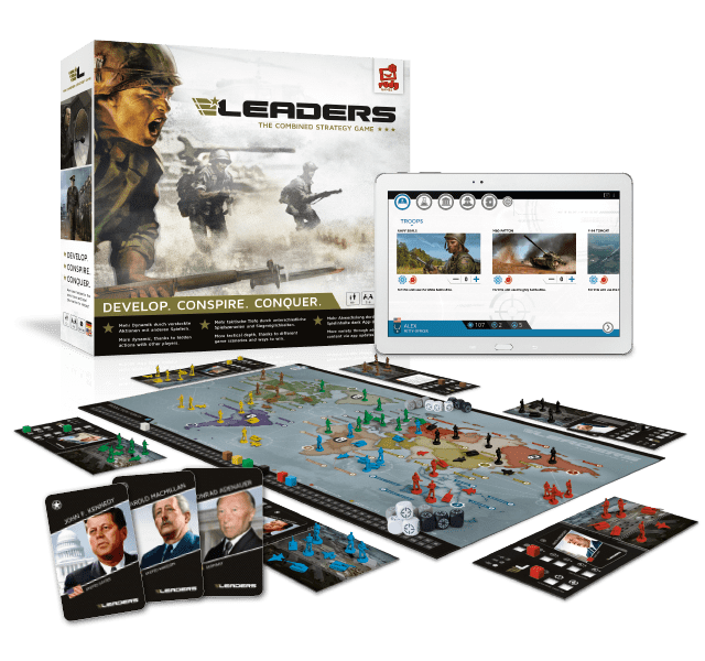 Leaders Spielmaterial