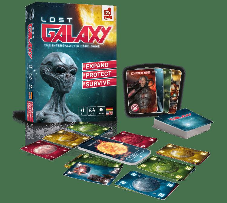 Box mit Spielmaterial
