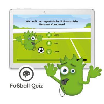 Interaction Fußball Erweiterung - Fußball Quiz