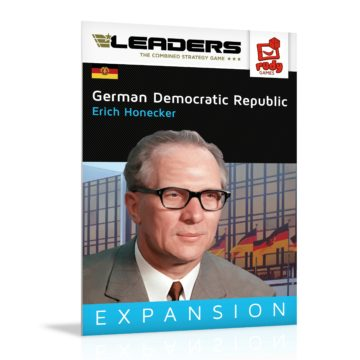 Leaders Expansion DDR mit Erich Honecker