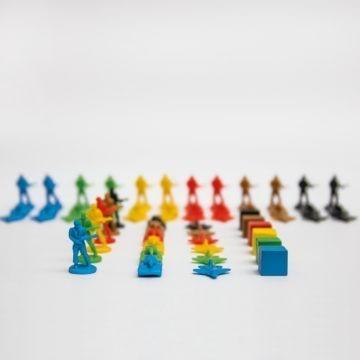 LEADERS Würfel- und Figuren Set