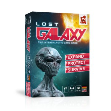 Lost Galaxy - das intergalaktische Kartenspiel von Rudy Games