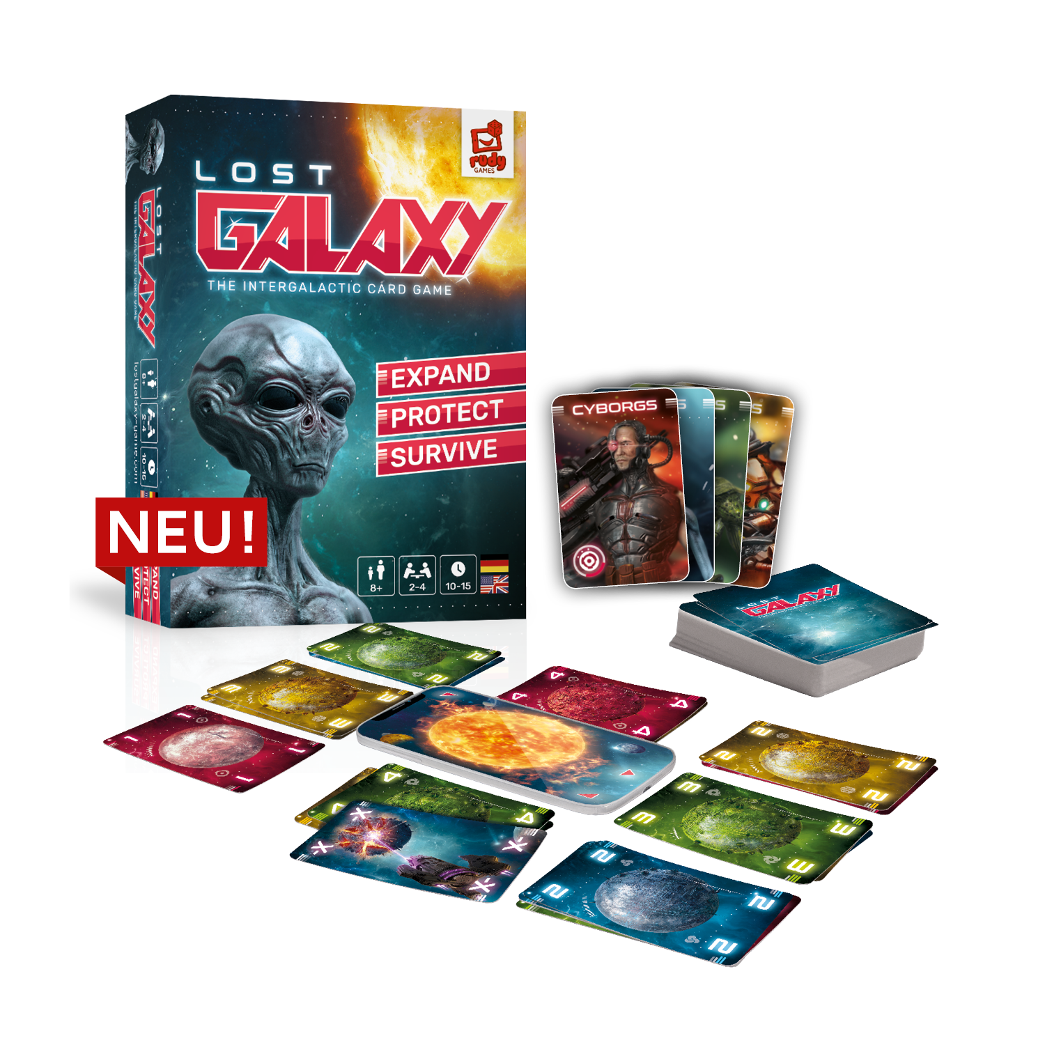 Lost Galaxy Game Material