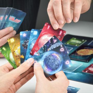 Lost Galaxy Karte ablegen