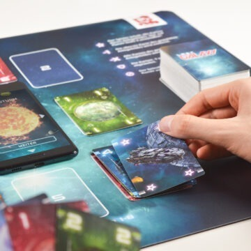 LG Playmat Spielsituation