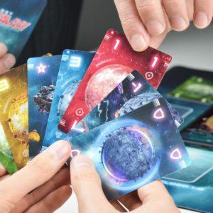 Karten aus Lost Galaxy das intergalaktische Kartenspiel