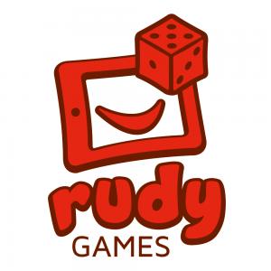 Rudy Games - Logo auf Weiß