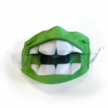Meeb Maske grün offen