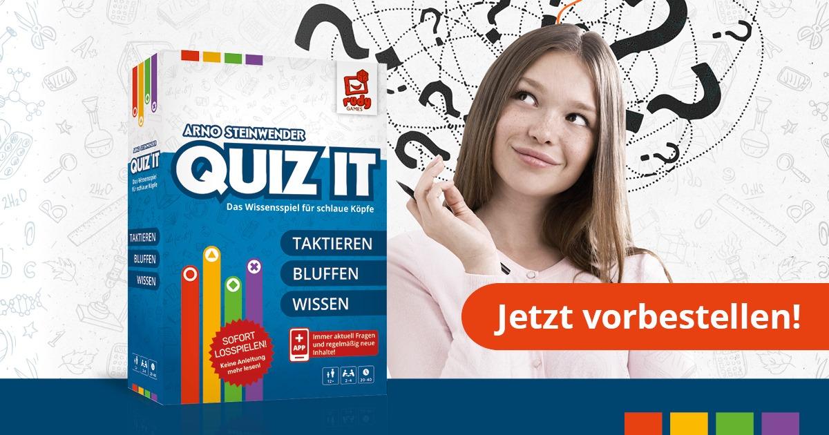 Quiz It - Jetzt vorbestellen!