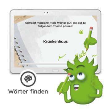 Interaction - DIY Erweiterung - Wörter finden