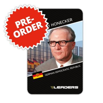 Leaders Expansion DDR - Erich Honecker
