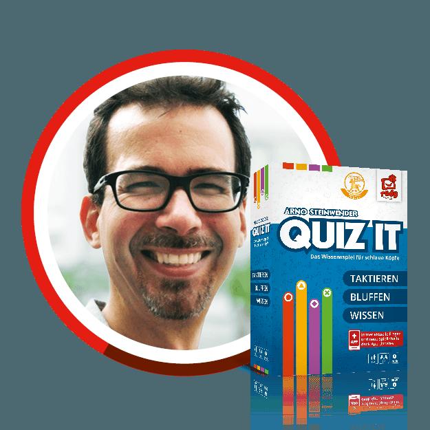 Triff den Autor von Quiz It - Arno Steinwender