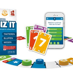 QUIZ IT - Spielausstattung