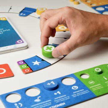 Wissensspiel Quiz It Spielmaterial