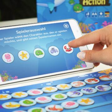 Scubi App Spielerauswahl