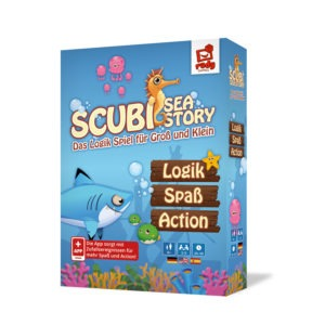 SCUBI Sea Story - Box 3D