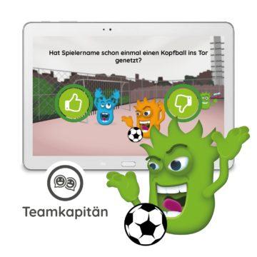 Interaction Fußball Erweiterung - Teamkapitän