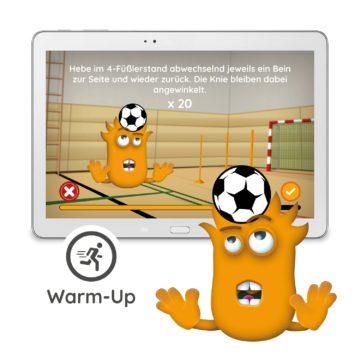 Interaction Fußball Erweiterung - Warm Up