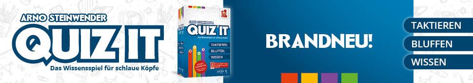 Brandneu: Quiz it - Das Wissensspiel für schlaue Köpfe
