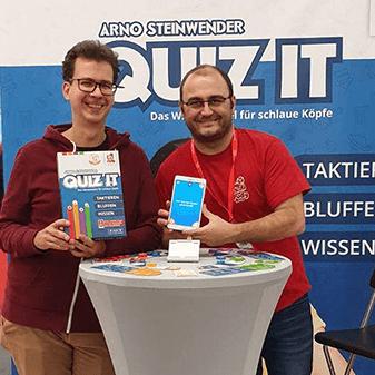 Arno Steinwender und Manfred Lamplmair präsentieren QUIZ IT