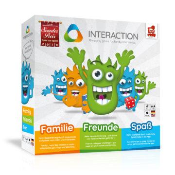 Interaction Spiel der Spiele Partyspiel Familienspiel