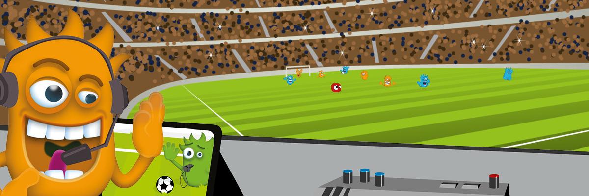 Interaction Fußball WM Expansion mit zusätzlichen Spielinhalten
