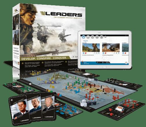 Umfangreiches Spielmaterial bei LEADERS