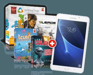Rudy Games Gewinnspiel 2019 mit Samsung Galaxy Tab und Spielepaket