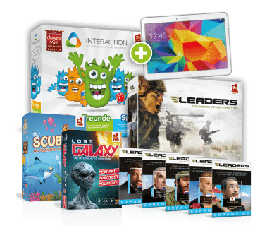 Rudy Games Gewinnspiel mit Spielepaket inklusive Samsung Tablet zu gewinnen